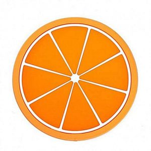 Silicone Coasters - Orange
