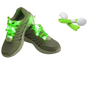 Kid's LED Glowing Shoe Lace - Green