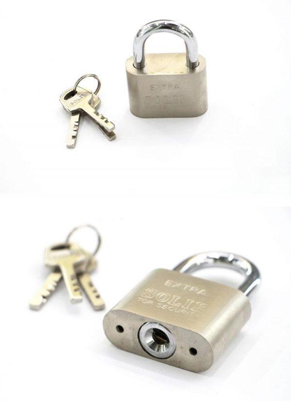 Solie Iron padlock small