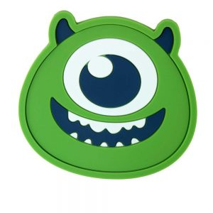 Silicone Coasters -Green Monster