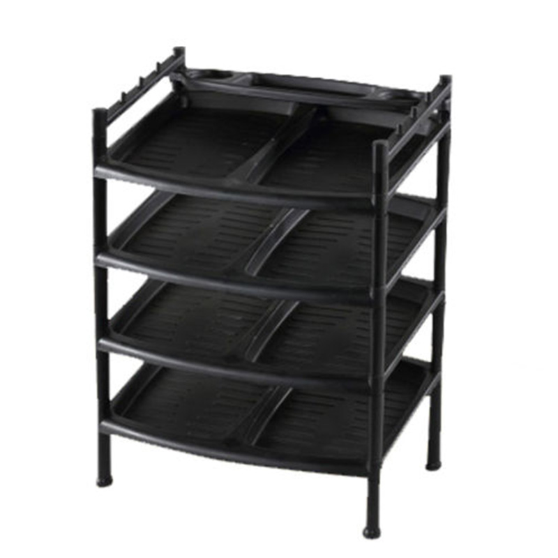 Daxer 04 Layer Plastic Shoe Rack - TR 04