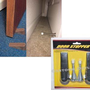 Door stopper set