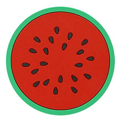 Silicone Coasters - Watermelon