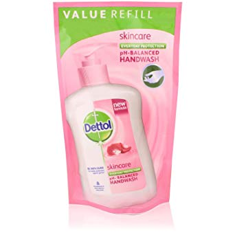 Dettol Skincare Hand Wash Pouch 175 ml
