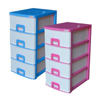 Daxer 04 Drawer Plastic Cupboard DDC 03(4D)