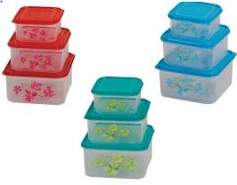 Daxer 3 in 1 Plastic Food Container (DFCF 01)