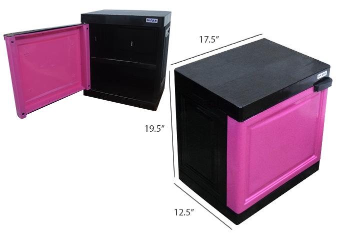 Daxer Bed Side Plastic Cupboard DMC 01C