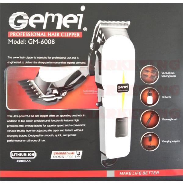 Gemei Hair And Beard Trimmer GM-6008
