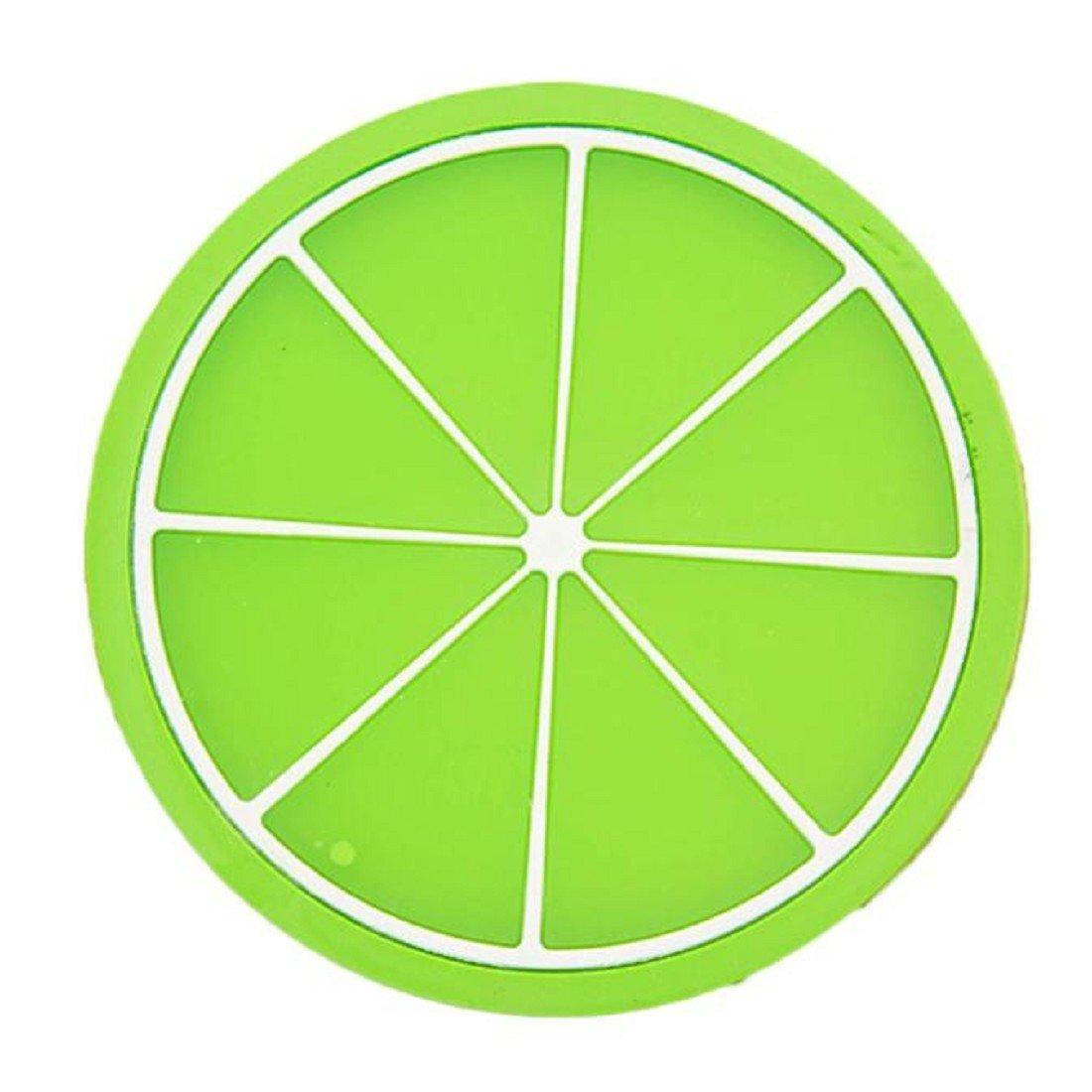Silicone Coasters - Green