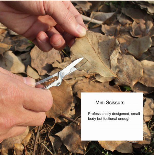 Foldable 11 in 1 Multipurpose pocket knife