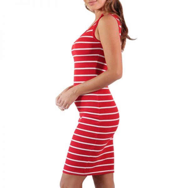 Nursing Dress - RED XL