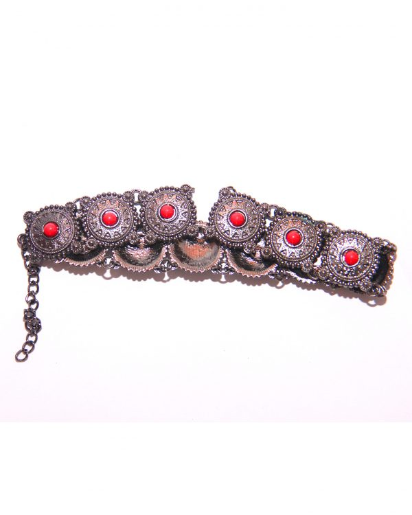 Collar-Choker-Necklace RED