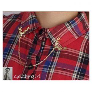 Reindeer collar chain -Gold