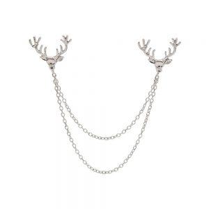 Reindeer Collar Chain - Silver