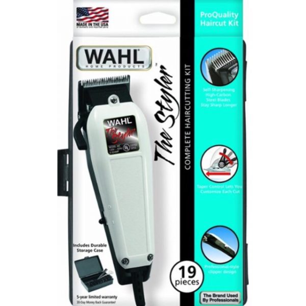Wahl The Styler Compete HairCutting Kit - 19 Pieces