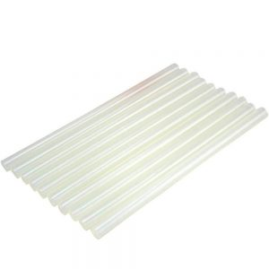 Hot Melt Transparent Glue Sticks -12 Pieces