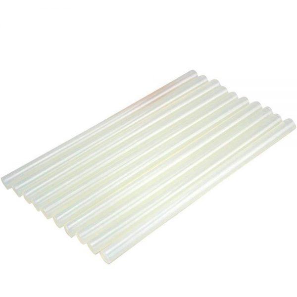 Hot Melt Transparent Glue Sticks -12 Pieces