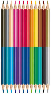 Maped Color'Peps Duo Colouring Pencils - 24 colours (Pack of 12)