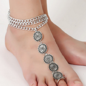 toe ring anklet