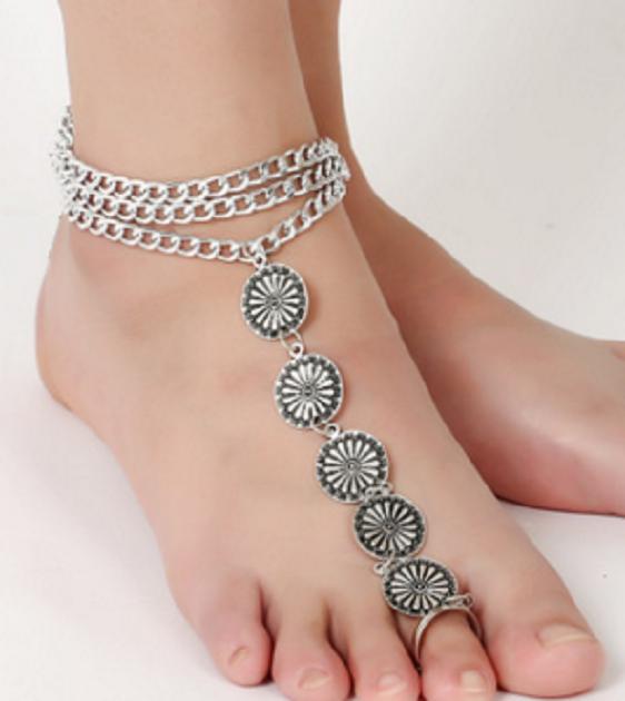 toe ring anklet