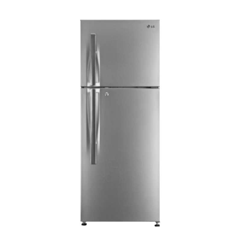 LG Refrigerator 284 Litre Shiny Steel GL-T332RLBN