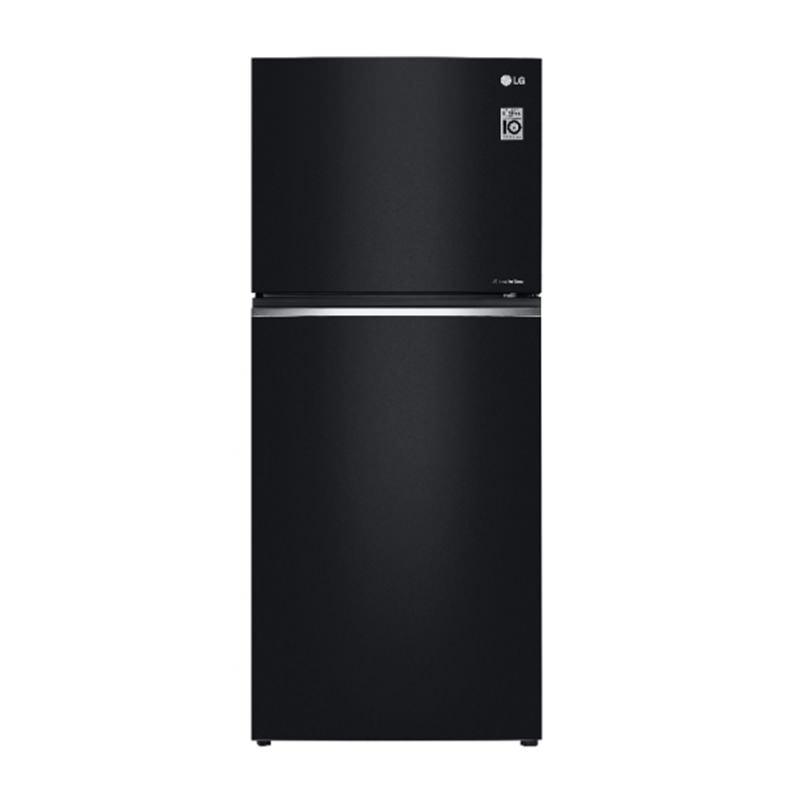 LG Refrigerator 427 Litre Black Mirror Door Cooling GT-T3867BM