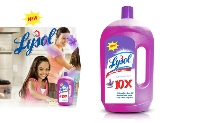 Lysol Lavender Disinfectant Surface Cleaner 950ml