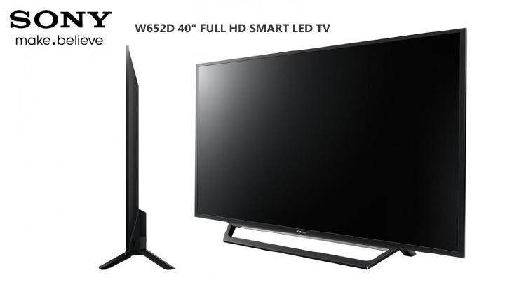 """Sony W652D 40"""" Full HD Smart LED TV"""