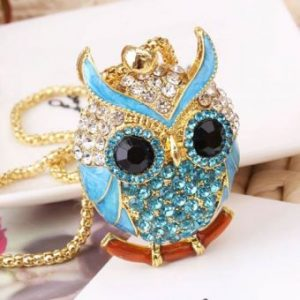 Vintage sweater chain owl design